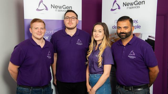 the Newgen IT Team